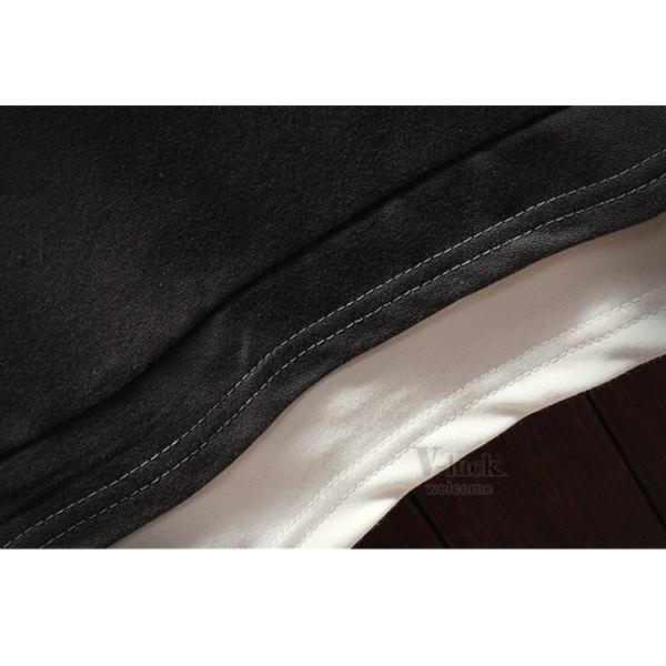 トレーナー メンズ トップス 長袖 Tシャツ ルームウェア フェイクレイヤード クルーネック スウェット 秋服 春物|otasukemann|15