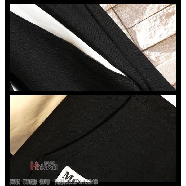 パーカー メンズ カジュアル 長袖パーカー 春秋 切り替え ゆったり フード付き 大きいサイズ Tシャツ 個性 おしゃれ|otasukemann|12