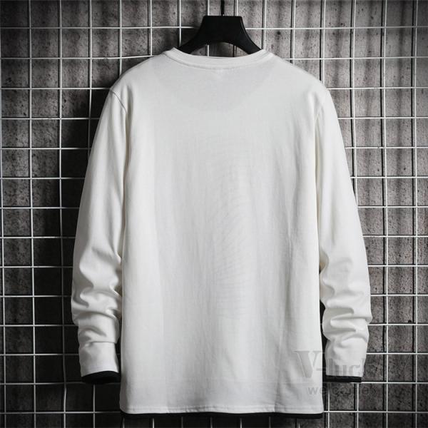 Tシャツ メンズ 長袖 ロングTシャツ カジュアル トップス ティーシャツ スリム 長袖Tシャツ 薄手 紳士 春秋|otasukemann|11
