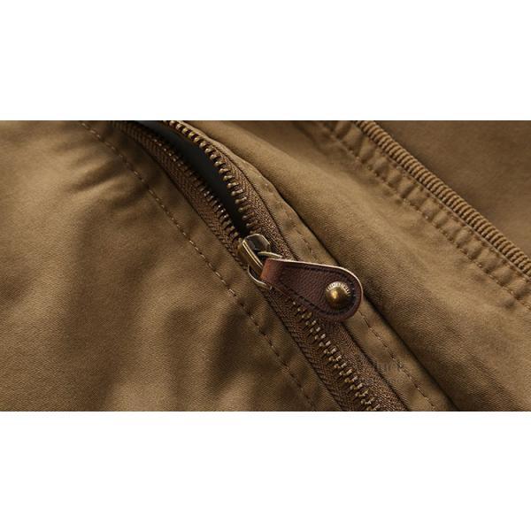 ミリタリージャケット メンズ フライトジャケット ジャンパー ファッション スイングトップ お兄系 アウター 欧米風|otasukemann|13