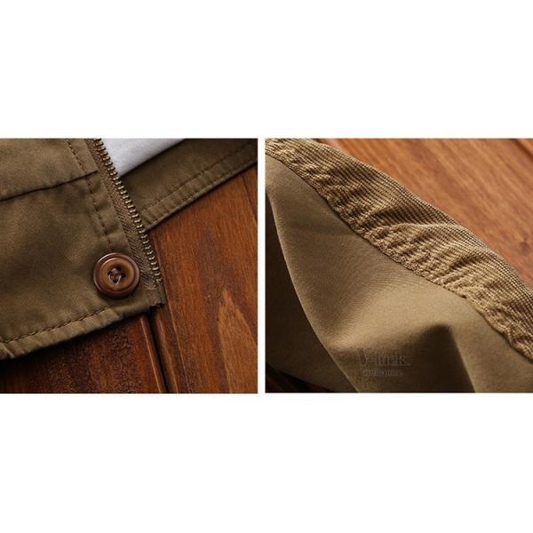 ミリタリージャケット メンズ フライトジャケット ジャンパー ファッション スイングトップ お兄系 アウター 欧米風|otasukemann|14