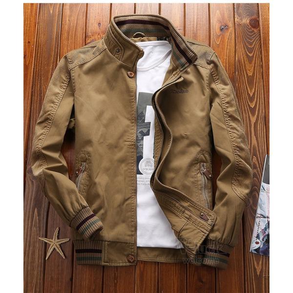 ミリタリージャケット メンズ フライトジャケット ジャンパー ファッション スイングトップ お兄系 アウター 欧米風|otasukemann|04