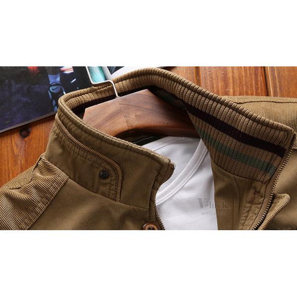 ミリタリージャケット メンズ フライトジャケット ジャンパー ファッション スイングトップ お兄系 アウター 欧米風|otasukemann|09