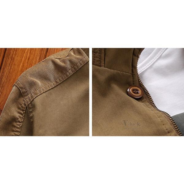 ミリタリージャケット メンズ フライトジャケット ジャンパー ファッション スイングトップ お兄系 アウター 欧米風|otasukemann|10