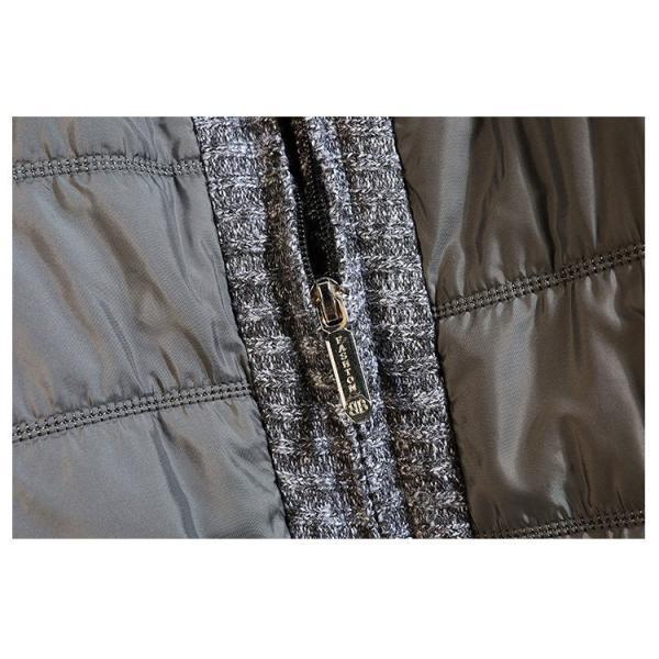 中綿ジャケット メンズ ジャケット アウター ダウン風 ブルゾン 切り替え 立ち襟 裏起毛 秋冬 送料無料|otasukemann|16