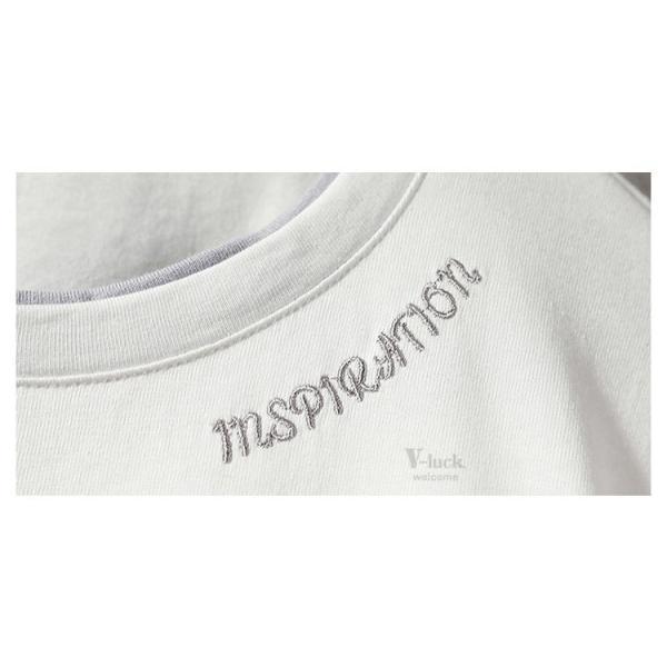 Tシャツ メンズ 長袖 おしゃれ ストリート系 ティーシャツ カジュアル 切り替え ファッション お兄系 春秋|otasukemann|09