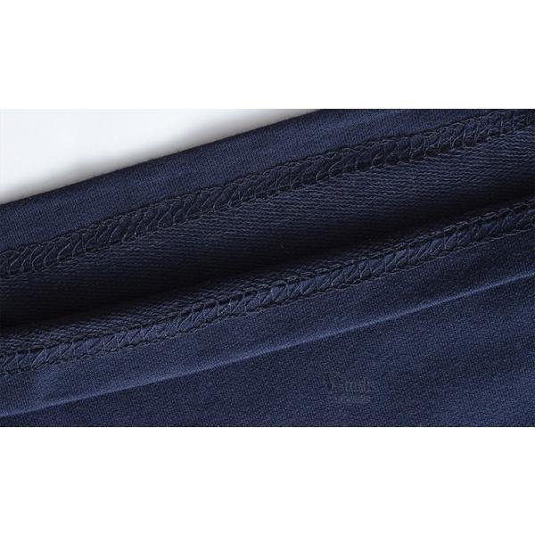 Tシャツ メンズ 長袖 ロンT カジュアル クルーネック ロングTシャツ 切り替え ストレッチ トップス 薄手 春秋|otasukemann|13