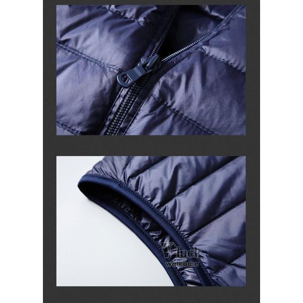 ダウンベスト メンズ ベスト 暖かいベスト キルティング ジャケット メンズベスト 防寒 おしゃれ アウター|otasukemann|10
