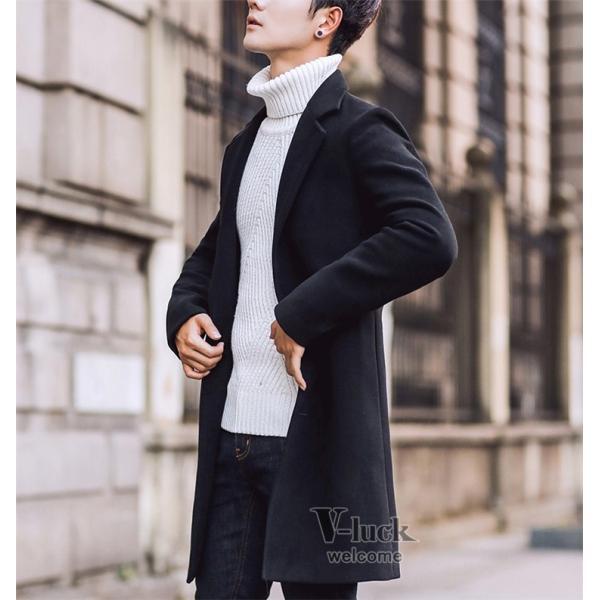 チェスターコート メンズ トレンチコート ビジネスジャケット 中綿ジャケット メンズコート 防寒 秋冬|otasukemann|14