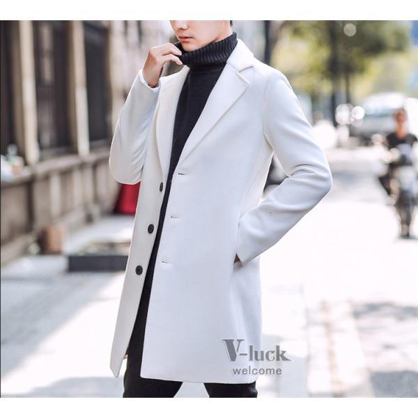 チェスターコート メンズ トレンチコート ビジネスジャケット 中綿ジャケット メンズコート 防寒 秋冬|otasukemann|16
