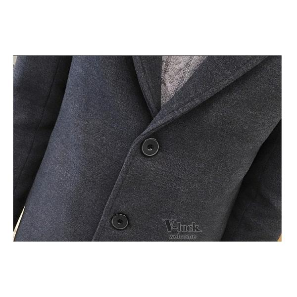 チェスターコート メンズ トレンチコート ビジネスジャケット 中綿ジャケット メンズコート 防寒 秋冬|otasukemann|20