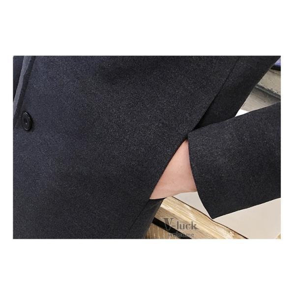 チェスターコート メンズ トレンチコート ビジネスジャケット 中綿ジャケット メンズコート 防寒 秋冬|otasukemann|21