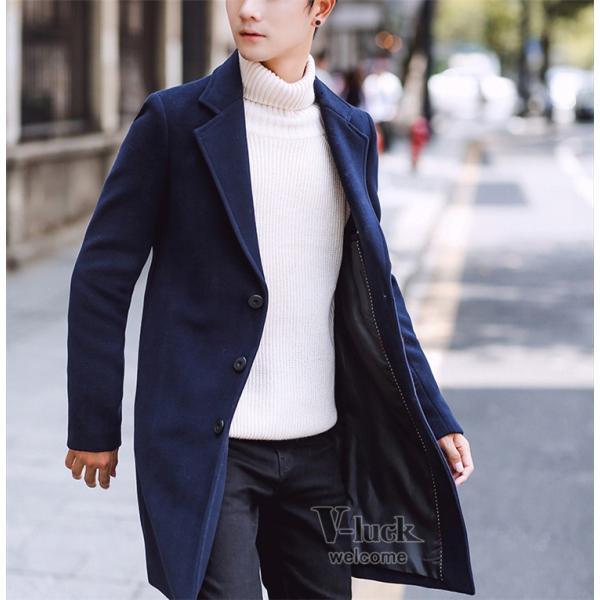 チェスターコート メンズ トレンチコート ビジネスジャケット 中綿ジャケット メンズコート 防寒 秋冬|otasukemann|05