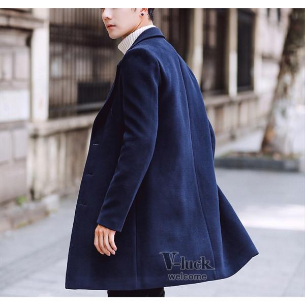 チェスターコート メンズ トレンチコート ビジネスジャケット 中綿ジャケット メンズコート 防寒 秋冬|otasukemann|06