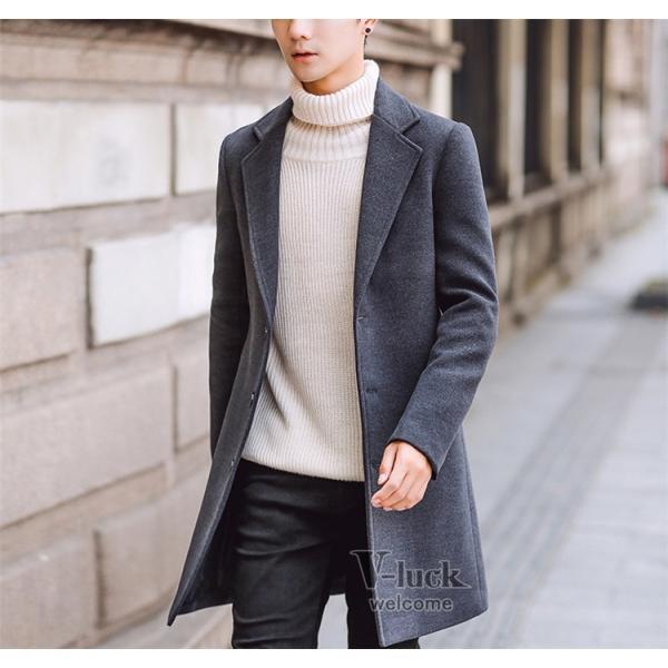 チェスターコート メンズ トレンチコート ビジネスジャケット 中綿ジャケット メンズコート 防寒 秋冬|otasukemann|08