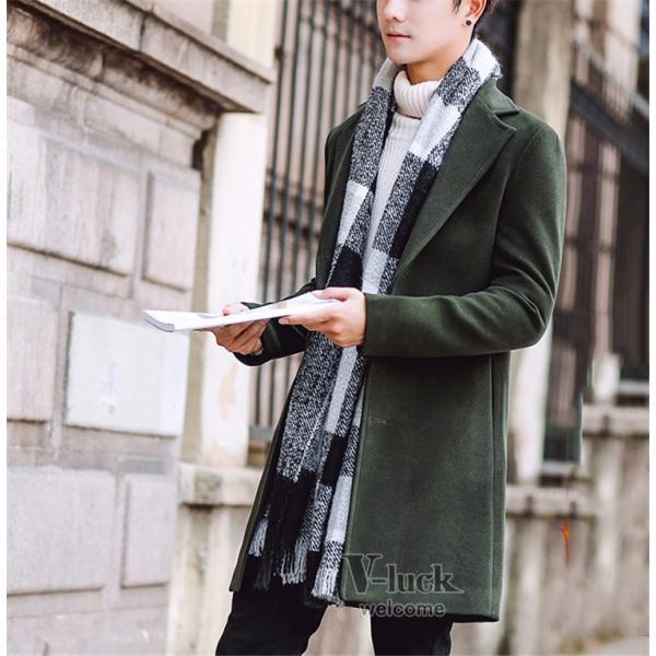 チェスターコート メンズ トレンチコート ビジネスジャケット 中綿ジャケット メンズコート 防寒 秋冬|otasukemann|09