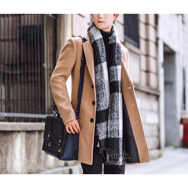 チェスターコート メンズ トレンチコート ビジネスジャケット 中綿ジャケット メンズコート 防寒 秋冬|otasukemann|10