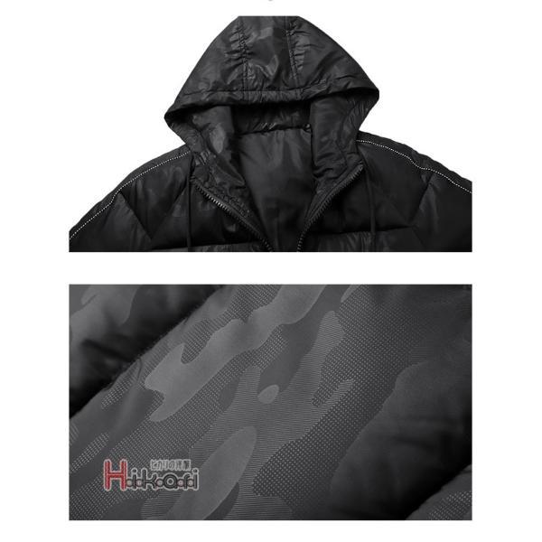 中綿ジャケット メンズ ダウンジャケット ビジネス アウター 中綿ダウン 防寒ジャケット あたたか|otasukemann|18