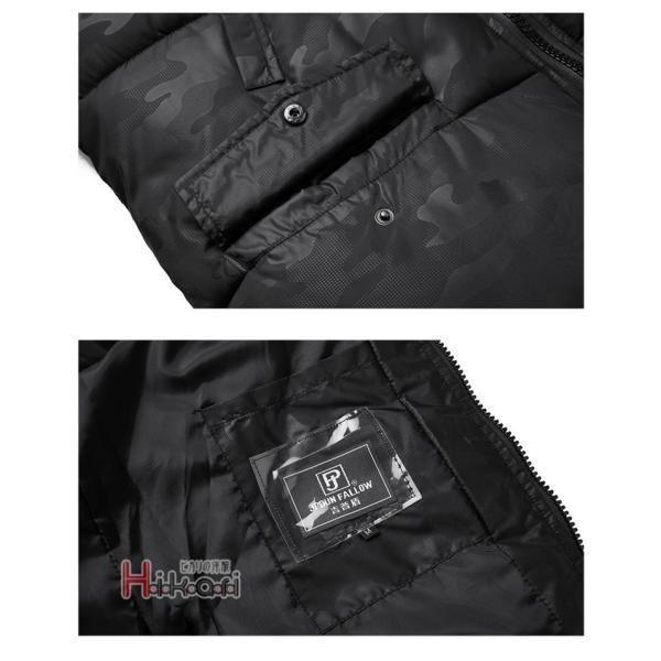 中綿ジャケット メンズ ダウンジャケット ビジネス アウター 中綿ダウン 防寒ジャケット あたたか|otasukemann|20