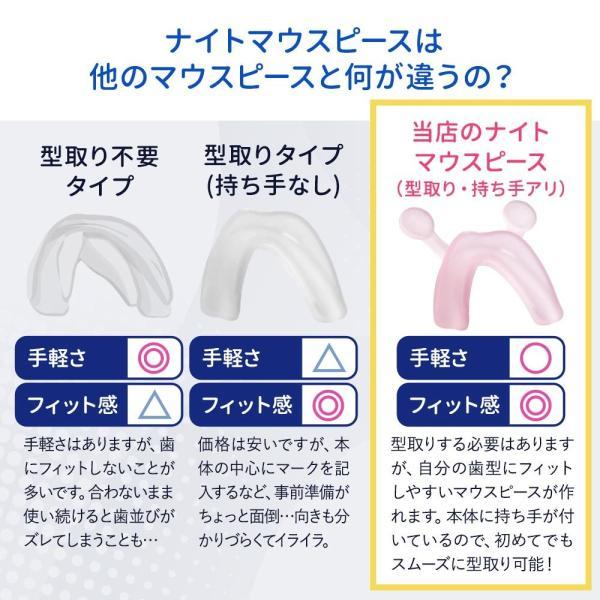 3時間限定 1000円ポッキリ 送料無料 お湯につけて自分の歯型が作れる ナイトマウスピース グッズ いびき防止 いびき対策 いびき対策グッズ 歯ぎしり メール便|otbj|06