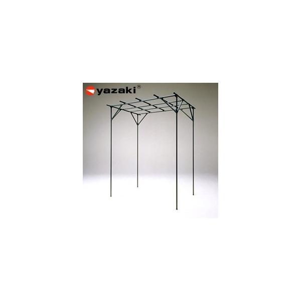 矢崎化工 藤棚 YFW-19 GG(ガーデニンググリーン) イレクター組立キット品 ぶどう・キウイ・お庭の日よけに!