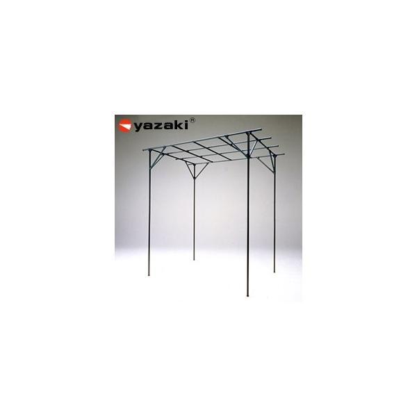 矢崎化工 藤棚 YFW-25 GG(ガーデニンググリーン) イレクター組立キット品 ぶどう・キウイ・お庭の日よけに!