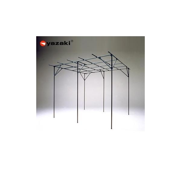 矢崎化工 藤棚 YFW-31 GG(ガーデニンググリーン) イレクター組立キット品 ぶどう・キウイ・お庭の日よけに!
