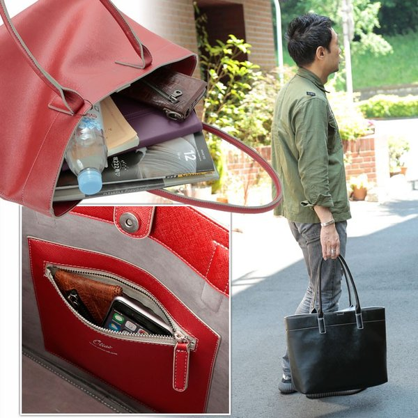 トートバッグ 大きめ 大容量 A4 メンズ レディース 男女兼用 男性 女性 通勤 通学 ビジネス 鞄 かばん カバン Otias オティアス|otias|03