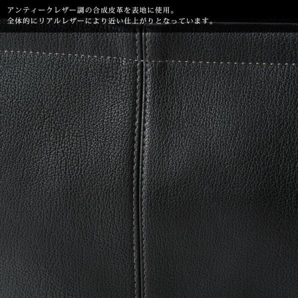サコッシュ ショルダーバッグ クラッチバッグ バッグインバッグ iPad収納 2way メンズ レディースアンティークタイプ合皮 Otias オティアス|otias|05