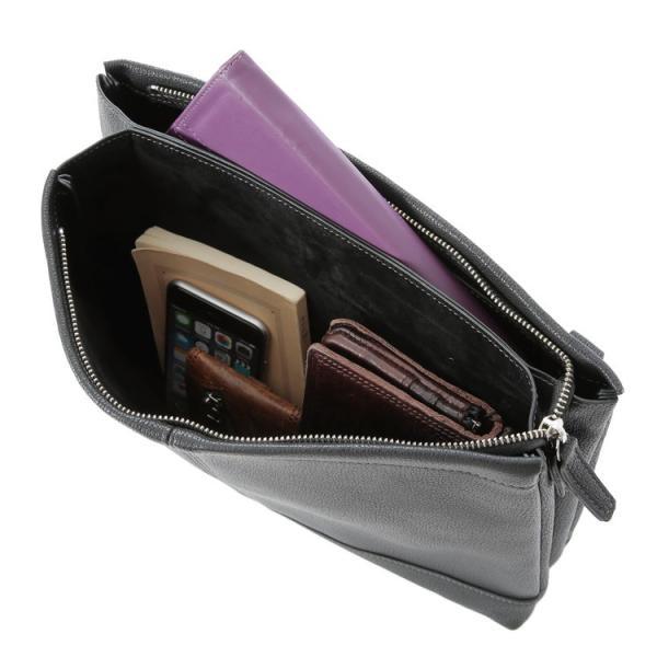 サコッシュ ショルダーバッグ クラッチバッグ バッグインバッグ iPad収納 2way メンズ レディースアンティークタイプ合皮 Otias オティアス|otias|10