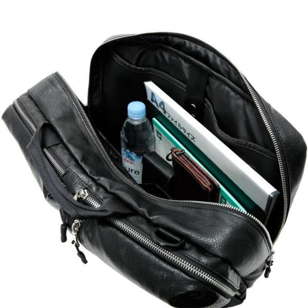 ビジネスバッグ 3way 軽量 大容量 リュックサック ショルダーバッグ メンズ 合成皮革 Biz3way Otias オティアス|otias|12