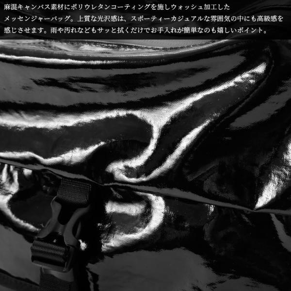 メッセンジャーバッグ ショルダーバッグ 止水ファスナー ポリウレタンコーティング メンズ 男性 大容量 Otias オティアス|otias|05
