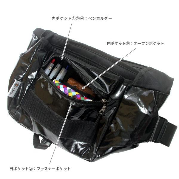 メッセンジャーバッグ ショルダーバッグ 止水ファスナー ポリウレタンコーティング メンズ 男性 大容量 Otias オティアス|otias|09