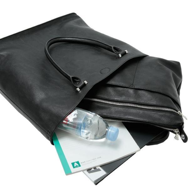 トートバッグ メンズ 大きめ A4収納 シンプル 大容量 Bizトート ビジネスバッグ バッグインバッグ付き Otias オティアス|otias|12