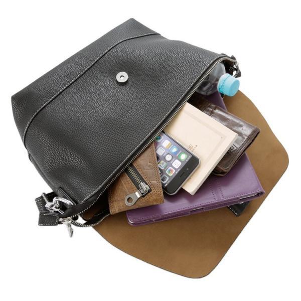 ショルダーバッグ ワンショルダー メッセンジャー 斜め掛け 肩掛け メンズ レディース たすき掛け iPad収納 シュリンクレザータイプ合皮 Otias オティアス otias 09
