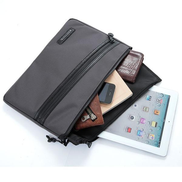 クラッチバッグ バッグインバッグ メンズ A4 iPad ナイロン 軽量 レディース 男性 かばん 日本製 薄マチ 誕生日 父の日 クリスマスプレゼント Otias オティアス|otias|03
