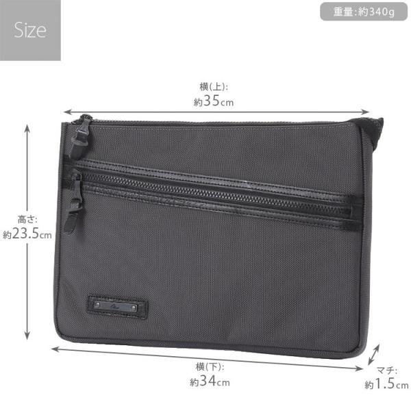 クラッチバッグ バッグインバッグ メンズ A4 iPad ナイロン 軽量 レディース 男性 かばん 日本製 薄マチ 誕生日 父の日 クリスマスプレゼント Otias オティアス|otias|04