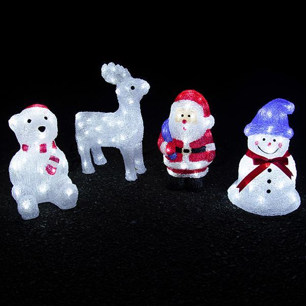 RoomClip商品情報 - クリスマス イルミネーション LED 3D モチーフライト Sサイズ