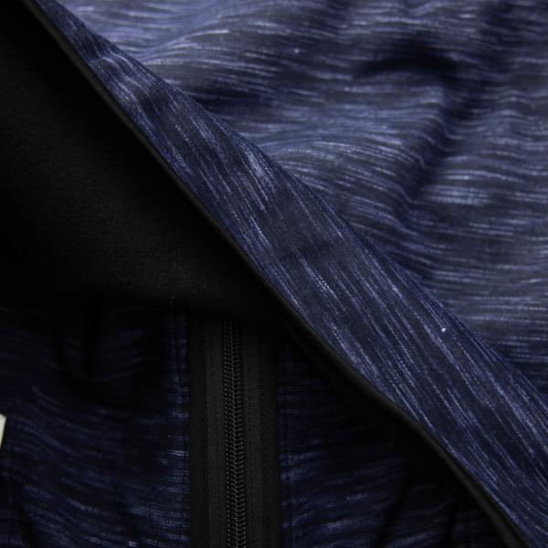 ジップパーカー メンズ 防風加工 裏フリース 裏起毛 フルジップ グレー 黒 ネイビー ウィンドブレーカー スウェットパーカー トップス 作業着 スポーツ|otokazi|18
