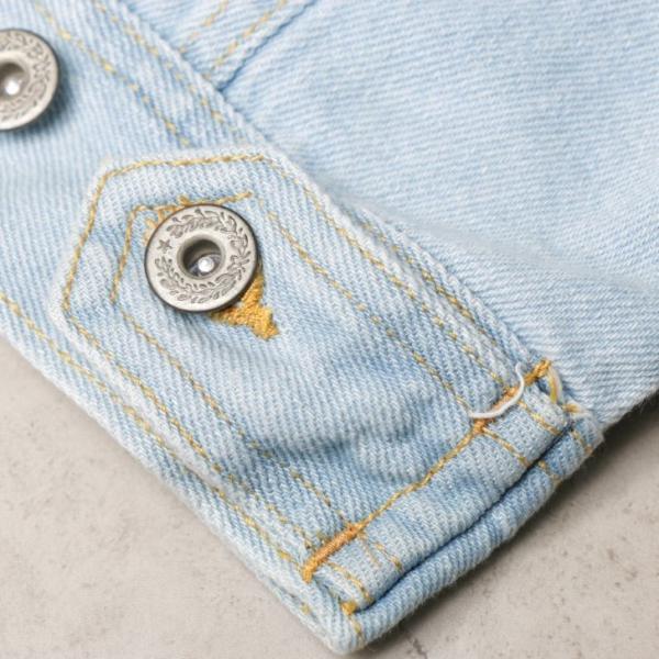 ビッグGジャン メンズ ビッグシルエット オーバーサイズ ブリーチ トラッカージャケット デニムジャケット ジージャン 韓国系ファッション ユニセックス ペア|otokazi|11