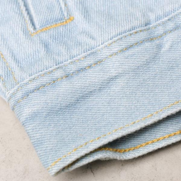 ビッグGジャン メンズ ビッグシルエット オーバーサイズ ブリーチ トラッカージャケット デニムジャケット ジージャン 韓国系ファッション ユニセックス ペア|otokazi|10