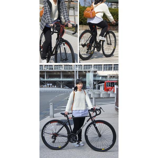 【特典付き】 ロードバイク 自転車 本体 700C 初心者 エントリーモデル 700×28C シマノ21段変速 軽量 DEEPER DE-3048 otoko-style 13