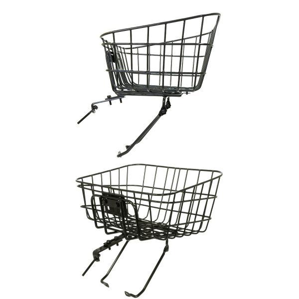 自転車かご ATB用バスケット・フロントキャリアセット MY-BK01|otoko-style|02