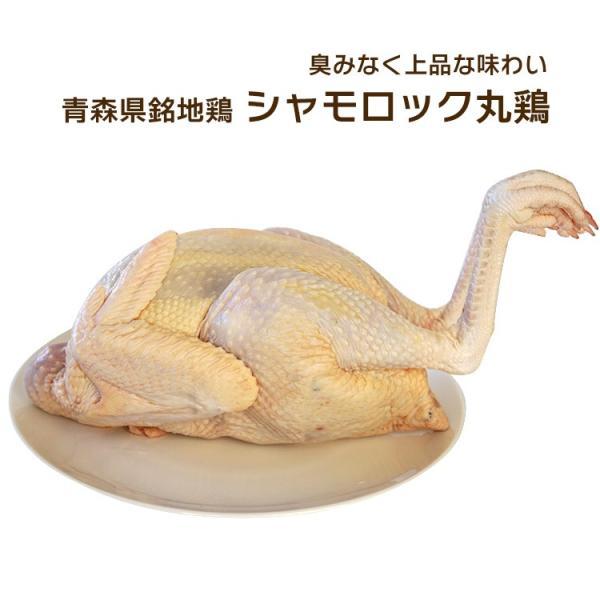 鶏肉 青森シャモロック シャモロック 丸鶏 一羽 約2.0〜2.5Kg 青森県銘地鶏シャモロック 冷蔵・冷凍選択可 産地直送