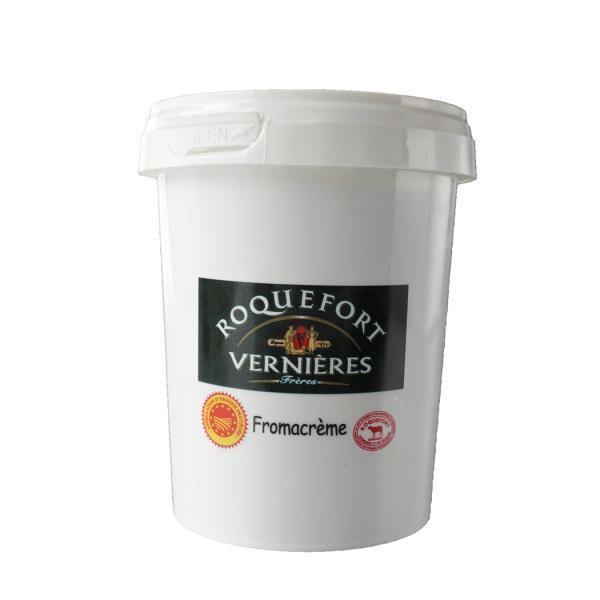 青カビチーズ ロックフォール クリーム500g フランス産 ブルーチーズ ご予約受付中