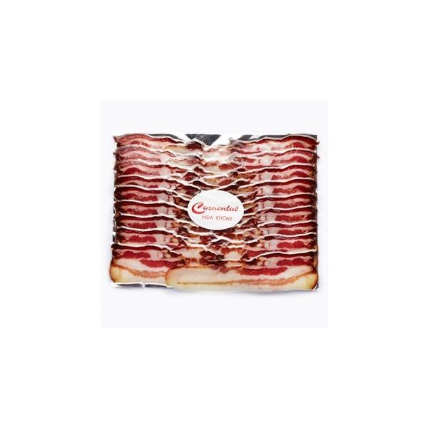 キュルノンチュエ 皮付き豚バラ肉のブロック燻製 300g[01]