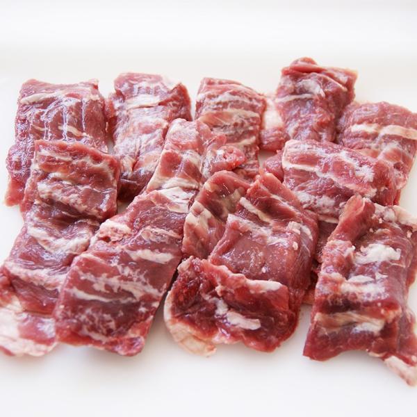 ラム肉 仔羊肉 熟成ラム カルビ スライス 約500g ニュージーランド産 子羊肉 羊肉 lamb 冷凍