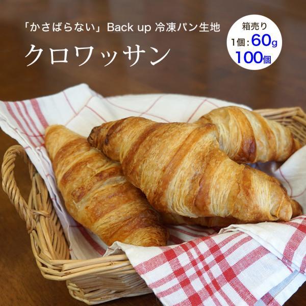 クロワッサン ベイクアップ 60g 100個 冷凍 パン生地 フランス産 業務用 箱入り