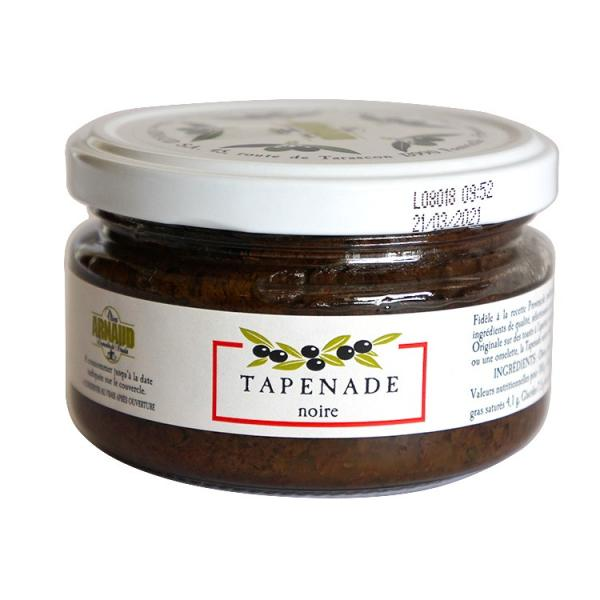 タプナード(ブラックオリーブ ) 200g フランス産 オリーブ加工品 ブラックオリーブペースト(常温)