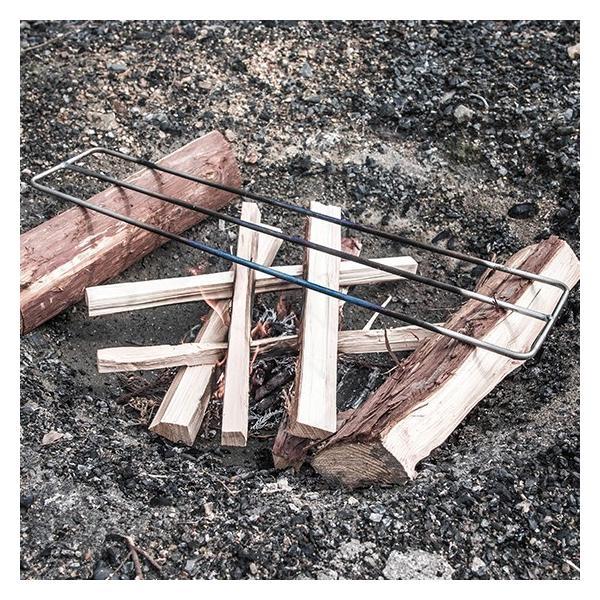 焚き火用 ゴトク Sサイズ たき火ゴトク S 焚火ゴトク 焚き火台 調理台 アウトドア サバイバル ブッシュクラフト キャンプ 登山 釣り|otokonokodawari|04
